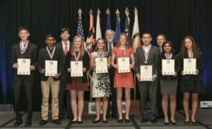 2018 National JSHS 1st Place Winners in the Oral Competition