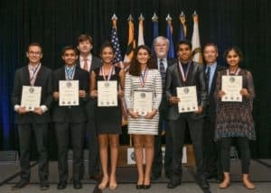 2018 National JSHS 1st Place Winners in the Poster Competition